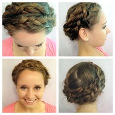 Easy and cute hair style