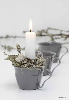Top 40 Christmas Decoration Ideas In GrayWhen thinking about Christmas decoration, the first thing that you need to decide on is the color scheme and . Cottage Christmas, Nordic Christmas, Noel Christmas, Christmas Candles, Christmas Colors, Rustic Christmas, All Things Christmas, Winter Christmas, Christmas Decorations