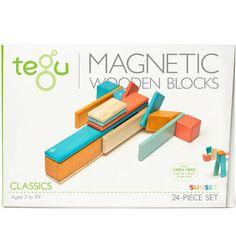 Tegu Sunset 24 peças Magnéticas - Jogos e Brinquedos  | Cristina Siopa