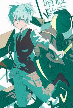 I keep seeing such good fanart. What is my talent? Fangirling? - DA •A•   Nagisa   Koro-sensei   Assassination Classroom