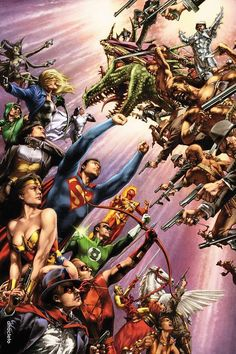 #Justice #League #Fan #Art. (Justice League of America 80-Page Giant) By: Jay Anacleto. (THE * 5 * STÅR * ÅWARD * OF: * AW YEAH, IT'S MAJOR ÅWESOMENESS!!!™)[THANK Ü 4 PINNING!!!<·><]<©>ÅÅÅ+(OB4E)