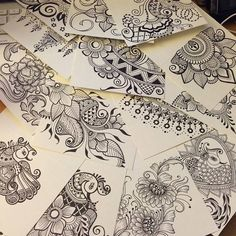 Henna designs by Wendy Rover