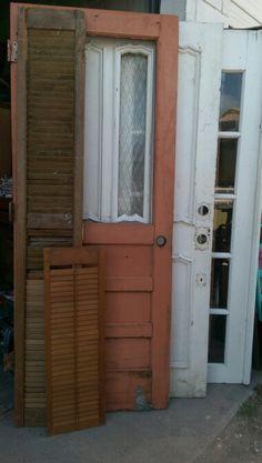 Ms bees painted furniture....doors doors and doors
