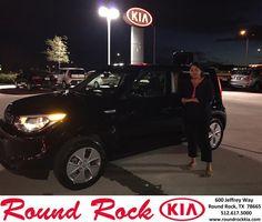https://flic.kr/p/FopBFq | Happy Anniversary to Kristie on your #Kia #Soul from Andi Wilson at Round Rock Kia! | deliverymaxx.com/DealerReviews.aspx?DealerCode=K449