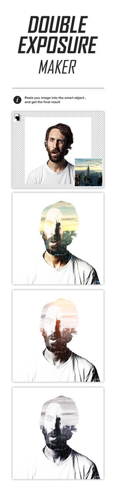 Free Double Exposure Maker (169 KB) | pixelmustache.net
