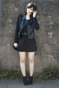 Outfit All Black from blog www.emilyjaynelewis.blogspot.com casual fashion street style  Emily Jayne Lewis