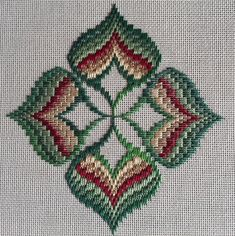 The Journey Continues – Exploring Ribbons & Four-Way Motifs Motifs Bargello, Broderie Bargello, Bargello Patterns, Bargello Needlepoint, Bargello Quilts, Needlepoint Stitches, Doily Patterns, Dress Patterns, Kasuti Embroidery