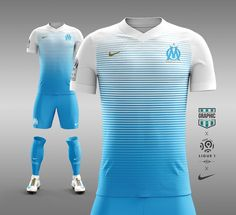 Marseille - Graphic UNTD (@GraphicUNTD) | Twitter Sport Shirt Design, Sports Jersey Design, Football Design, Sport T Shirt, Barcelona Football Kit, Goalkeeper Shirts, Jersey Outfit, Football Uniforms, Custom T Shirt Printing