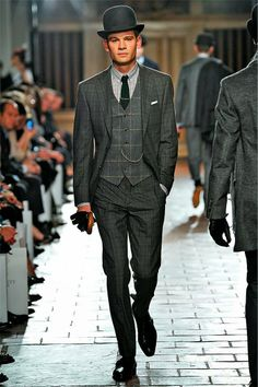 "business.  gear.  - today on the adventures of tartanscot™: ""Sunday Runway - Hackett Fall 2013 . . . """