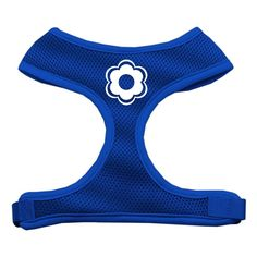 Mirage Pet Products Daisy Design Soft Mesh Dog Harnesses, Large, Blue >>> Want to know more, click on the image. #Pets