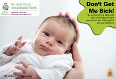National Infant Immunization Week 2014 - Learn what it means to cocoon a newborn and why it is so important for anyone near baby to get a #flu shot and the #Tdap vaccine. Learn more at HealthyChildren.org. #ONEmoms #niiw #publichealth