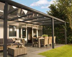 Pergola For Small Patio Outdoor Decor, Small Pergola, Garden Canopy, Outdoor Living, Beautiful Roofs, Pergola On The Roof