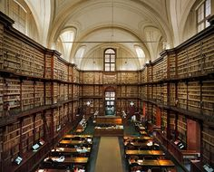 Biblioteca Angelica, Rome, it's Italy's oldest public library. Dates back to 1604. Beautiful.