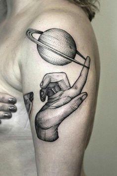 Tattoo Black and White Bartosz Wodja