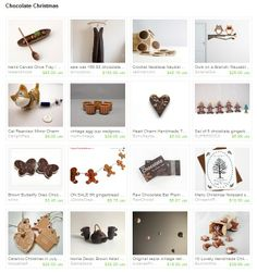 my ceramic ornaments were featured in this Etsy treasury by manatvi.. 08.12.2013.