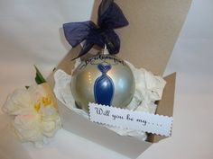Personalized Will You Be My Bridesmaid Ornaments  by SAM Designs @ www.samdesigns.net, $22.00