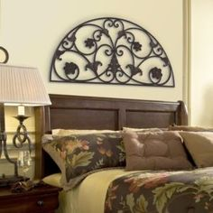 tuscan arch over master bed Decor Over Bed, Bedroom Wall Decor Above Bed, Bedroom Decor, Bedroom Ideas, Tuscan Design, Tuscan Style, Tuscan Decorating, Interior Decorating, Decorating Ideas