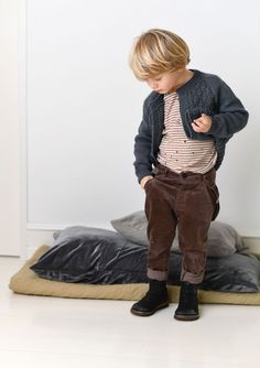 Little boy outfits Little Boy Outfits, Little Boy Fashion, My Boys, Little Boys, Knitting For Kids, My Design, Pure Products, Sweaters, Cotton