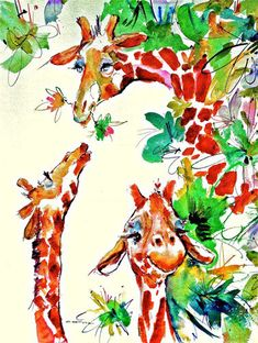 Mother always loved my brother best. Fine art giraffe by ratafia, $44.60