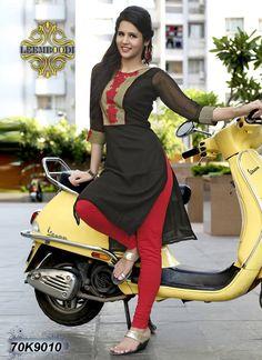 Buy online sarees, salwar kameez and designer kurtis with pure quality fabric and at manufacturer rates. Girls In Leggings, Tight Leggings, Designer Kurtis Online, Indian Girls Images, Salwar Designs, Black Saree, Indian Beauty Saree, Curvy Women Fashion, Beautiful Indian Actress