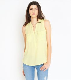 Looking to enlist in the fashion army? You're going to need this blouse.