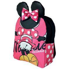 Bambina Minnie Mouse Sacca Sacco Zaino Zainetto Scuola Borsa Ragazza