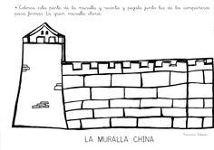 muralla china Qu puedo hacer hoy: La gran m - china Tangram, Chinese Crafts, Around The Worlds, China China, Montessori, Lens, World Cultures, Great Wall Of China, Learn Chinese