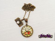 Купить Кулоны с изображением часов на выбор - разноцветный, кулон, Кулон ручной работы, часы
