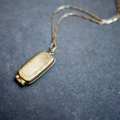 Mini USB Round Locket, old world romance and smart technology from Emily Rothschild
