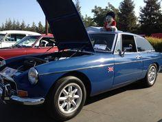 My 1972 MGB GT, Mineral Blue