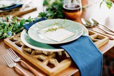 Copper themed wedding | Alexis June Weddings