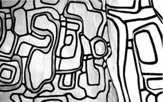 Hommage à Dubuffet Jean Dubuffet, Scribble Art, Art Brut, Art Graphique, Pattern Wallpaper, Les Oeuvres, Collage Art, Interior Styling, Art Drawings