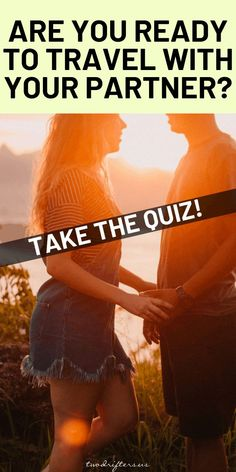 relationship games Are you and your significant other ready to vacation together Take this quiz to find out whether or not youre ready to travel as a couple. List Relationship Goals, Relationship Advice Quotes, Communication Relationship, Ending A Relationship, Marriage Advice, Relationship Quizzes, Relationships, Captions For Couples, Conversation Starters For Couples