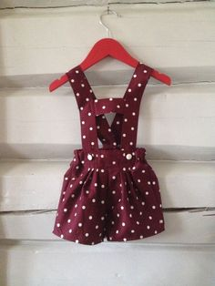 Shorts str I skjønnt poplin med prikker. Poplin, Homemade, Summer Dresses, Shorts, Fashion, Moda, Sundresses, La Mode, Home Made