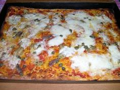 Vegan Pizza, Homemade Pasta, Pain, Lasagna, Food And Drink, Snacks, Cooking, Ethnic Recipes, Pane Pizza