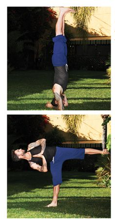 """adam levine yoga pose """"Yoga takes what you have and molds and sculpts it..."""""""
