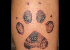 48 Wolf Claw Tattoo
