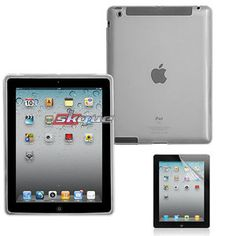 Tpu SKIN Case Clear for Apple iPad 3rd Gen and Screen Protector   eBay