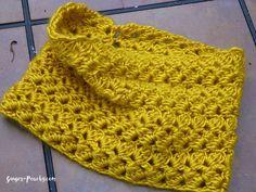 Free Crochet Pattern Elspeth Cowl   Ginger-Peachy.com