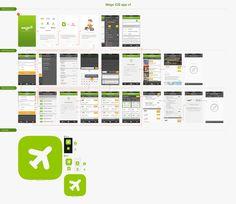 iPhone App Flows / Bady