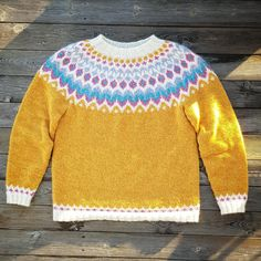Finished my second Riddari and I love it! Icelandic Sweaters, Knitting Designs, Tangled, Hobbies, Arts And Crafts, Men Sweater, It Is Finished, Warm, Pullover