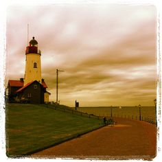 Urk, Holland  [IMG_2218 by neginn, via Flickr] Going Dutch, Pictures To Draw, Lighthouses, Holland, Coastal, To Go, Explore, World, Beach
