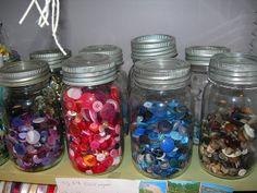 jars-o-buttons by turnsoleluna, via Flickr