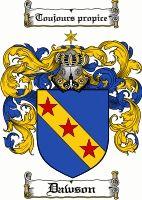 Dawson Coat of Arms / Dawson Family Crest