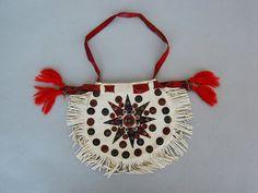 Folk bag (wool, metal, leather), Poland © British Museum