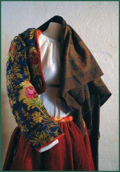 Meana Sardo Costume tradizionale Cortes Apertas 2012