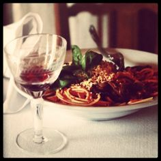 Pasta alla norma.  #pomodoro #melanzane #ricotta #salata #sicilia #taste #cucina #instafood #foodlovers #10x10 #anitaliantheory