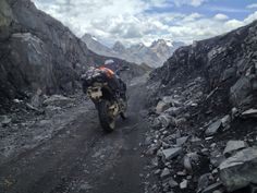 Bill Beckwith's BMW F800GS in Peru