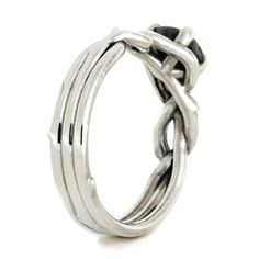 RING LAYOUT Ring Width: 4 mm Ring Sleeve: Sterling Silver Ring Profile: Custom Ring Finish: Polished Stone: Gibeon Meteorite Size: 6 mm Shape: Round Setting: Silver 4 Prong SKU: 2119 Available Ring Sizes: 4 to 16, including 1/4, 1/2 and 3/4 sizes All of my sterling silver rings have