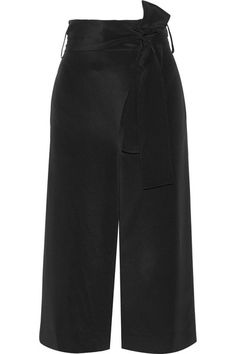 Tibi | Belted silk crepe de chine culottes | NET-A-PORTER.COM
